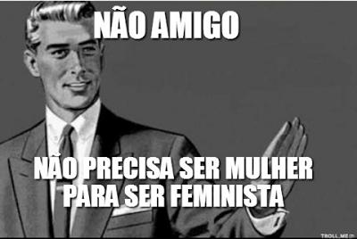 feminista homem