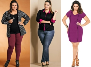 Big girls também querem se vestir bem.