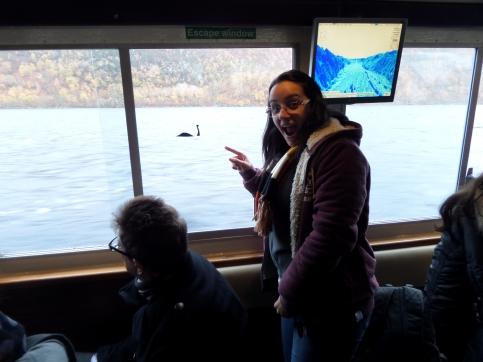 Encontrando minha amiga Nessie no Loch Ness
