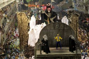 """A grande injustiçada: Em 2011, a Unidos da Tijuca trouxe o """"Meia-noite eu Levarei a Sua Alma"""" e ficou em 2º lugar."""