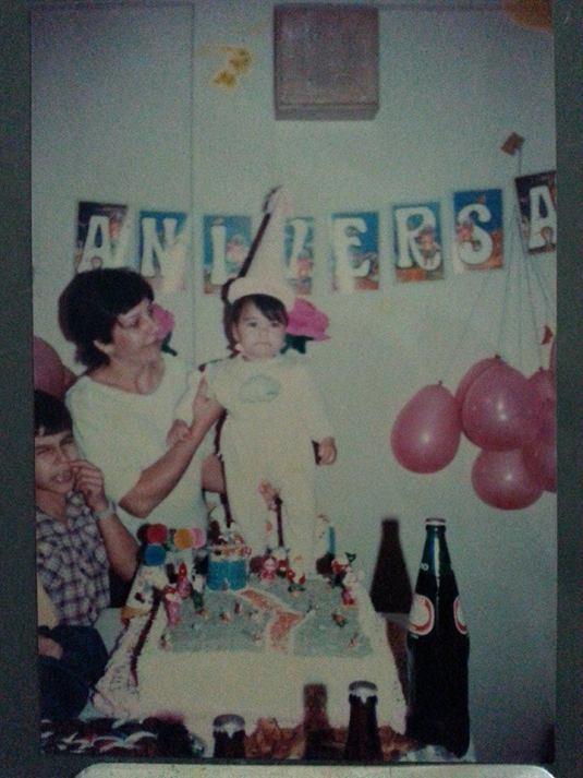 Nossa Léli Marques comemorando mais um ano de vida com a Tia Marlene