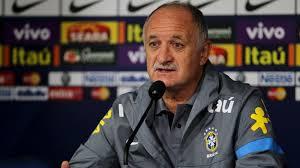 Felipão tenta levar o Brasil ao hexacampeonato.