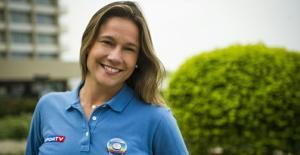 Fernanda Gentil é o grande destaque jornalístico do mundial