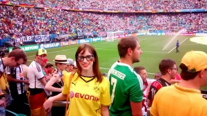 Minha emoção ao vivenciar a Copa.